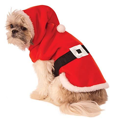 Weihnachtsmann Rubies Kostüm - Rubie's Santa Kapuzenpullover, Medium, Mehrfarbig