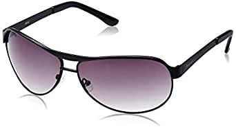 Fastrack Aviator Sunglasses (Black) (M035GY1)
