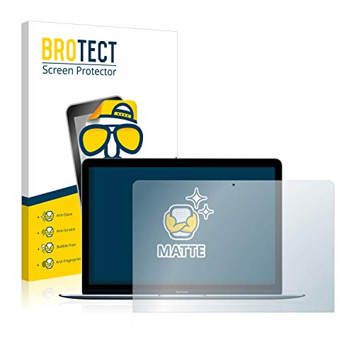 BROTECT Entspiegelungs-Schutzfolie kompatibel mit Apple MacBook 12