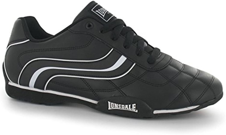 Lonsdale Camden Camden Camden Uomo Scarpe Nero Bianco Scarpe Casual scarpe da ginnastica Calzature | Shopping Online  e3bc95