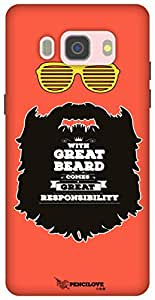 The Racoon Lean printed designer hard back mobile phone case cover for Samsung Galaxy J5 (2016). (Respect th)