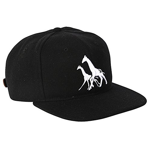 Nature Rock Strapbk Cap black (Lrg-rock)
