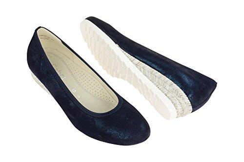 Gabor 62.641.96, Scarpe col tacco donna Blu scuro