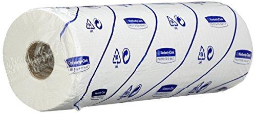 SCOTT* EXTRA Ärzterollen (40 cm), 6002 – 6 Rollen x 136 weiße, 2-lagige Liegenabdeckungen