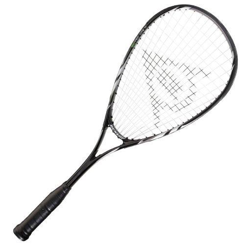 Dunlop Squashset: 2x Squashschläger BIOTEC LITE TI SILVER DELUXE + 2x Schlägerhülle + 3 hochwertige Bälle - 3