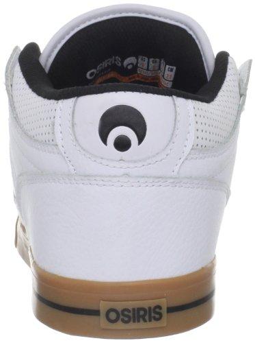 Osiris NYC 83 VLC 21018011 Herren Sneaker White/Black/Gum