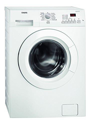 AEG 914534006 Waschmaschinen/Frontlader (Freistehend), 100 cm Höhe Modern