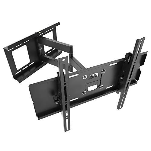RICOO Wandhalterung TV Schwenkbar Neigbar R03 Universal LCD Wandhalter Ausziehbar Fernseher Halterung Fernsehhalterung 81cm/32