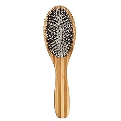Haarbürste natürliche Bambus Haarpflege