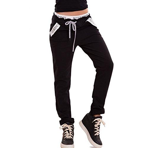 toocool-pantaloni-donna-tuta-cotone-cavallo-basso-elastico-tasche-fitness-nuovi-cj-2389-taglia-unica
