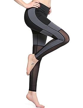 Pantalones De Running Deportivos Para Mujeres, Pantalones De Yoga Transpirables De Gran Altura, Pantalones Elásticos...