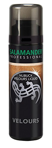 Salamander Professional Nubuck Velours Liquid 75 ml (Einheitsgröße, Dunkelblau 082) (Kleine Lila Sprühflasche)