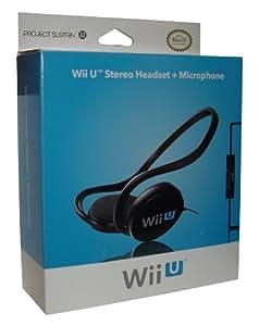 Micro-casque stéréo pour Wii U