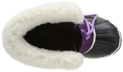Sorel Yoot Pac Nylon Unisex-Kinder Ungefütterte Schneestiefel Violett (Gloxinia. Black 505)