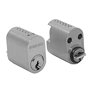 Sterling SCN06 6 Pin Internal & External Cylinder Set, Nickel, 31mm