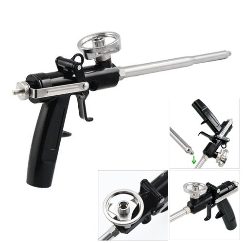 Dcolor Professionelle Heavy Duty Ausbau PU-Schaum-Applikator Applikator Gun Schaumkanone
