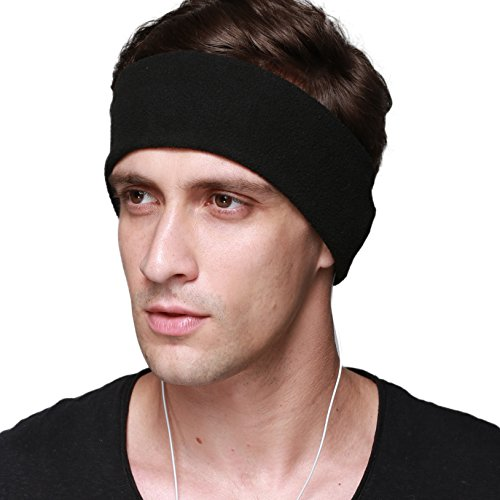 41tDaITyEDL - NO1# SLEEP SOLUTIONS Sleep Headphones - With Velcro Adjustable Headband- COZY Comfortable Soft Headphones for Sleeping - Perfect for Air Travel, Sports, Relaxation, Meditation and Relief from Insomnia (Black) best sleep & dream reviews Buy price uk