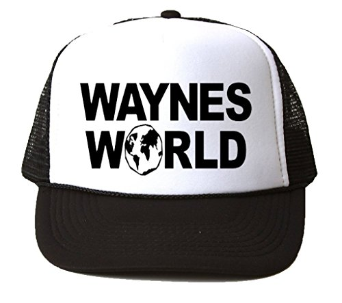 Kostüm Wayne's Garth World - King Wayne 's World Snapback Trucker Hat