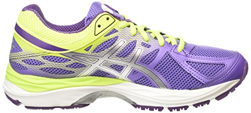 Asics Gel-Cumulus 17 Gs, Chaussures de Running Compétition Fille Violet (iris/silver/flash Yellow 3593)