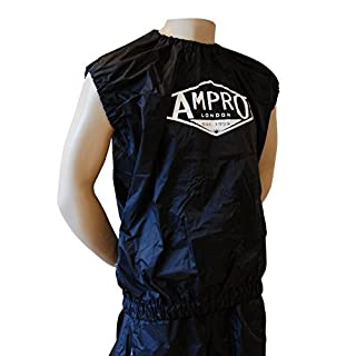 Ampro Pro Sleevless Sweat Suit With Shorts (XLarge) - Training / Fitness / Lose Weight / Slimming / Exercise / Sauna / Sweatsuit