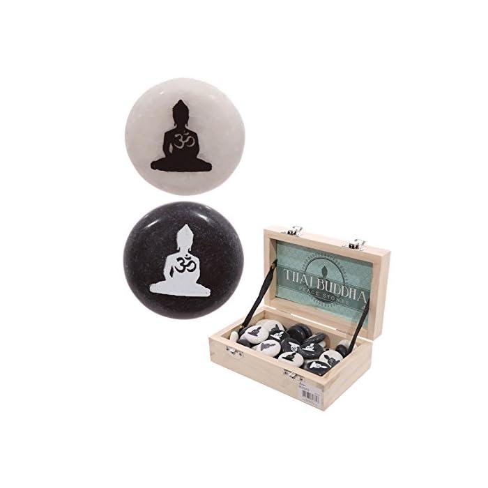 Glücksstein - Thai Buddha
