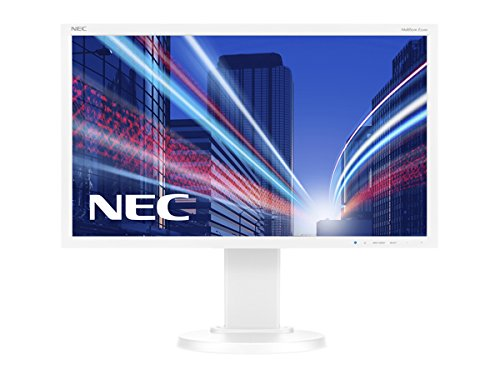 NEC MultiSync E224Wi 54,62cm 21,5Zoll Wide 1920x1080 analog+digital DVI-D DP Has 1000:1 250cd 6ms Weiss