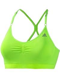 adidas - Brassières pour le sport - Brassiere adipure - Solar green - S