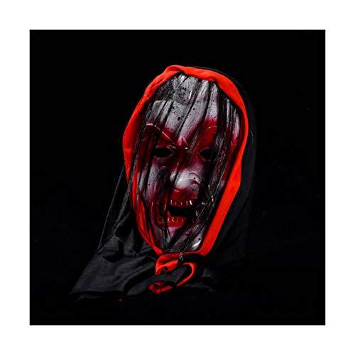 Halloween Kopfmaske Kostüm-Party Blutig Scary Horrible Masquerade für Erwachsene (Halloween Annabelle Kostüm)