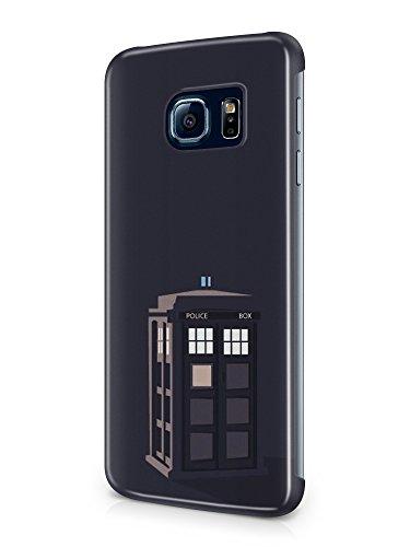 Preisvergleich Produktbild 3D Doctor Who Series, Design For samsung galaxy S6 Case Cover , Doctor Who Police Box Cases Design For Samsung Galaxys6 Hülle (docsm6-13)