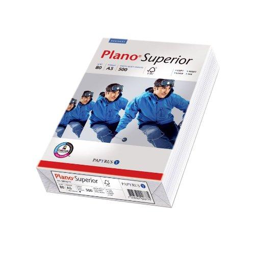 Preisvergleich Produktbild Papyrus 88026798 Multifunktionspapier PlanoSuperior 80 g/m², A5 500 Blatt weiß
