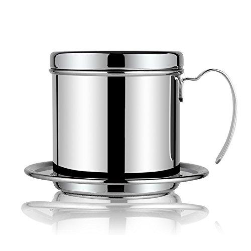 Caffè dell'acciaio inossidabile Dripper Vietnamita stile Caffè Latte filtro tazza del caffè espresso Drip Maker