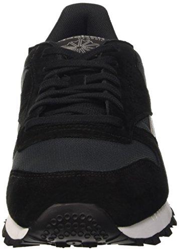 Reebok Classic Clip Ele, Baskets Basses Homme Noir (Gravel/Black/Medium Grey)