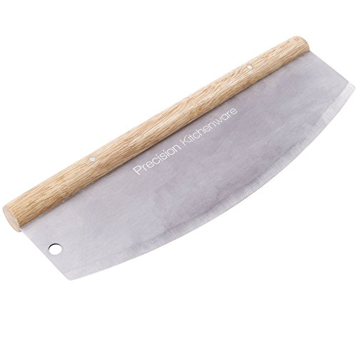 Pizzamesser / Wiegemesser mit 35 cm Klinge thumbnail