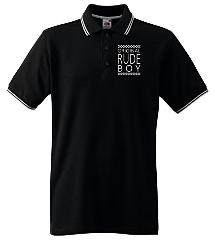 Original Rude Boy Mens Ska Polo T Shirt