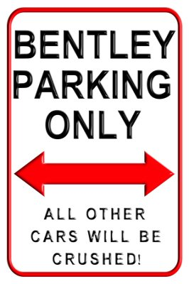 bentley-parking-only-aluminium-wall-sign-20-x-30cms