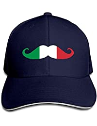 WBinHua Cappellini da Caps Beard Italy Adult Adjustable Snapback Hats Dad  Hat Unisex dce33e056ab4
