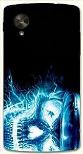 Good Looking multicolor printed protective REBEL mobile back cover for LG Nexus 5 / Google Nexus 5 D.No.N-L-11929-NX5