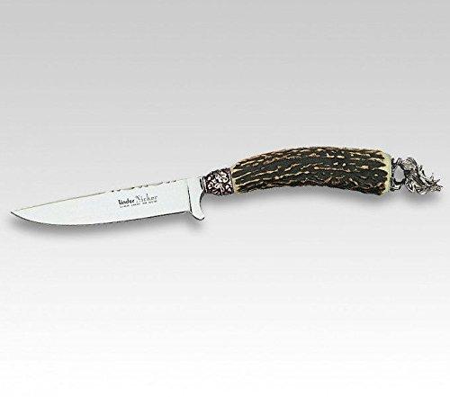 Linder Couteau Costume Dos, Pol rfr, Hirschh. décoratif tête de cerf Plaque 10 cm