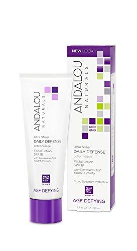 Andalou Naturals Täglicher Schutz Gesichtslotion SPF#18 48 g (Tägliche Schutz-lotion)