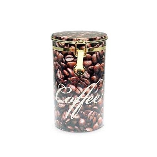 Eigenart Kaffeedose COFFEEBEAN H. 19cm D. 11cm braun
