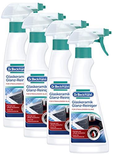 Dr. Beckmann Glaskeramik Glanz-Reiniger, 4er Pack (4x 250 ml)