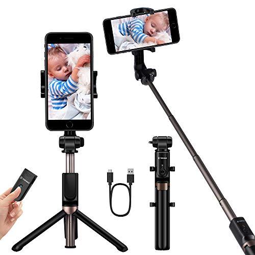 Treppiede 3 in 1 Selfie Stick Bluetooth 3.0 con Telecomando
