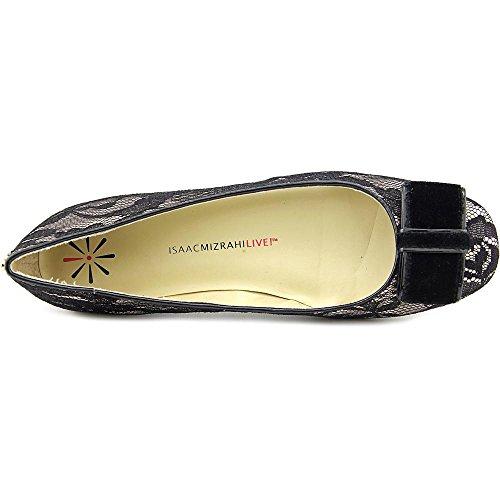 Isaac Mizrahi Brit2 Femmes Toile Chaussure Plate Black Multi
