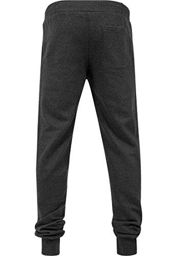 Urban Classics Herren Hose Straight Fit Sweatpants Charcoal