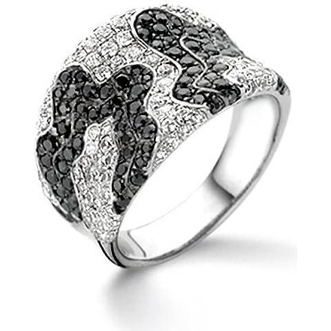 Anello Velini R6982, in argento Sterling 925,