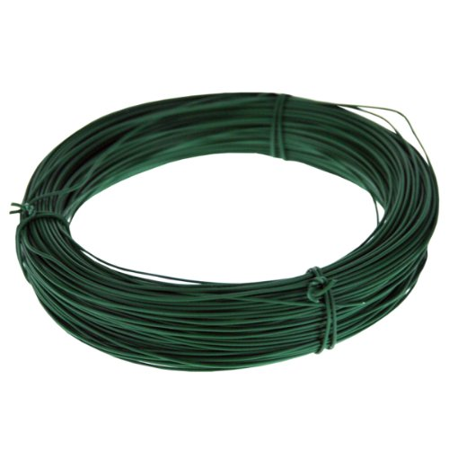 Image of King Fisher GSW102 1 mm Multi-Purpose Garden Wire - Green