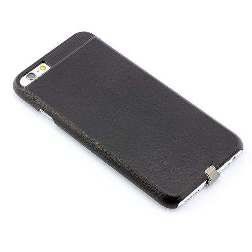 Drahtlos Qi Ladeempfänger für Apple iPhone 6/6S Wireless Charging Case kabellos funk Induktionsladegerät ScorpioCover gold bronze schwarz