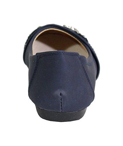 By Shoes, Damen Ballerinas Blau