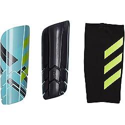 Adidas Ghost Pro Espinilleras, Unisex Adulto, Azul (Tinley/Aquene / Amasol), M