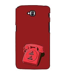 Fuson Designer Back Case Cover for LG G Pro Lite :: LG Pro Lite D680 D682TR :: LG G Pro Lite Dual :: LG Pro Lite Dual D686 (The telephone theme)